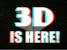 3D is here logo
